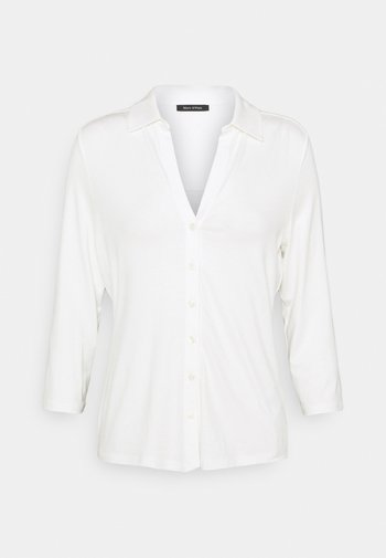 CLASSIC - Button-down blouse - paper white