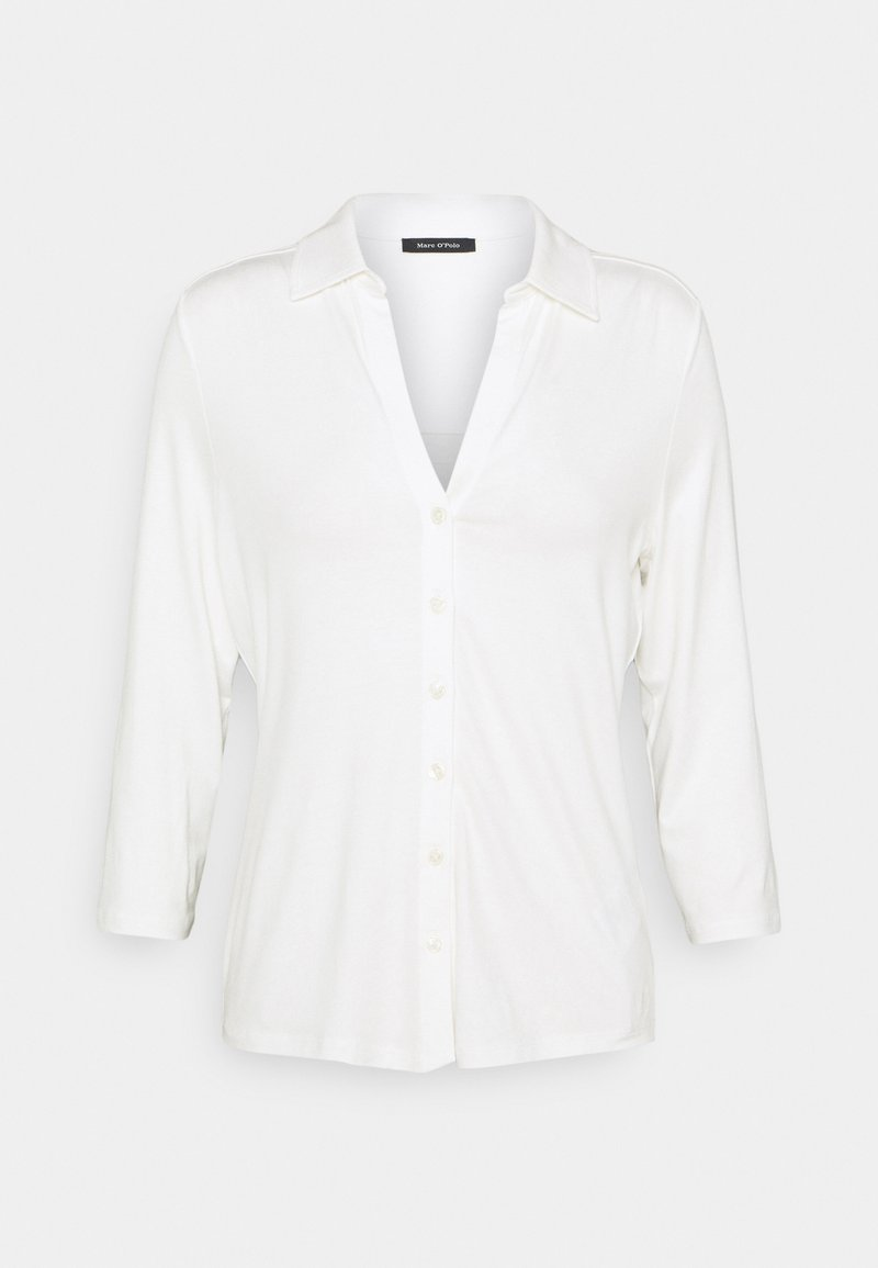 Marc O'Polo - CLASSIC - Button-down blouse - paper white