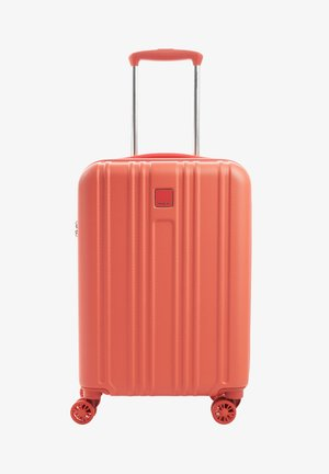Wheeled suitcase - emberglow coral