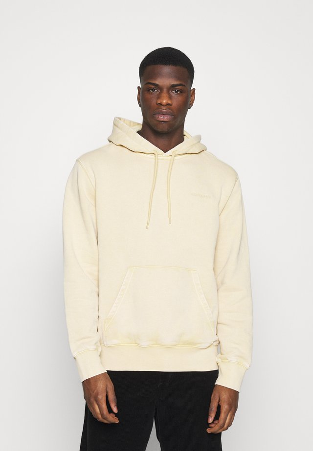 HOODED MOSBY - Sweatshirt - dusty brown