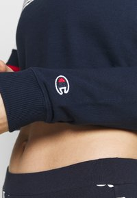 Champion - CREWNECK CROPTOP - Sweatshirt - dark blue - 5
