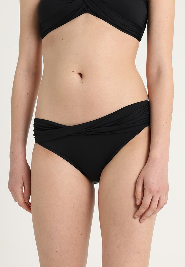 TWIST BAND HIPSTER - Bikini bottoms - noir