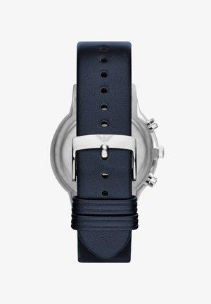 Chronograph watch - blue