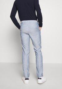 Calvin Klein Tailored - TROPICAL SLIM SUIT - Suit - blue - 5