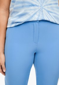 Triangle - REGULAR FIT: STRAIGHT LEG-HOSE - Trousers - blue - 5