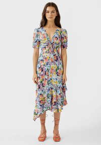 Stradivarius - VOLANT - Day dress - multi-coloured - 1