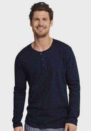 MIT KNOPFLEISTE - Pyjama top - dark blue