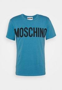MOSCHINO - Print T-shirt - light blue - 8