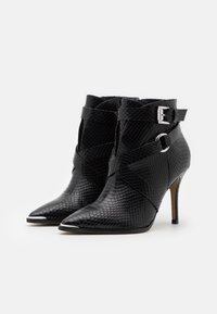 San Marina - VOTELLA - High heeled ankle boots - noir - 2