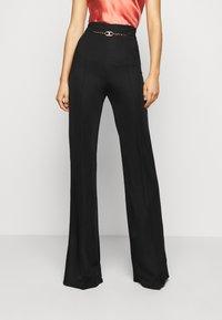 Elisabetta Franchi - WOMEN'S PANT'S - Trousers - black - 0