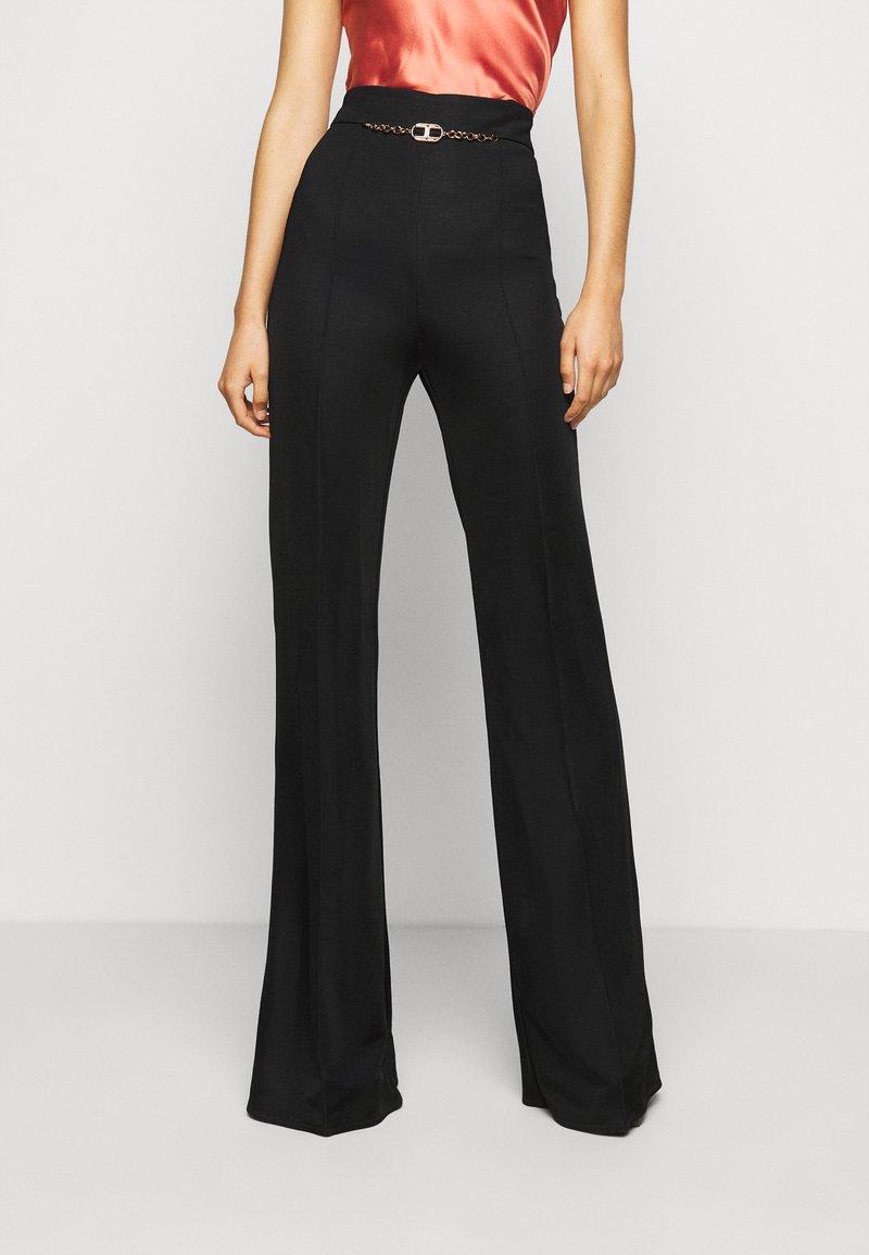 Elisabetta Franchi - WOMEN'S PANT'S - Trousers - black