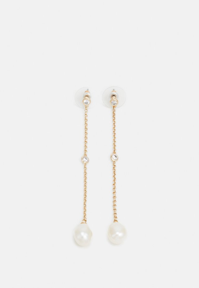 WARSHIRE - Boucles d'oreilles - gold-coloured/white