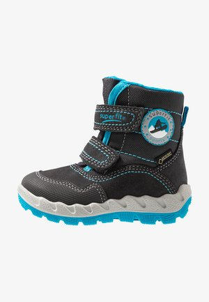 ICEBIRD - Botas para la nieve - grau/blau