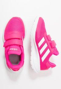 adidas Performance - TENSAUR RUN - Zapatillas de running neutras - shock pink/footwear white/shock red - 0