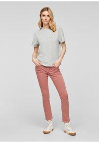 s.Oliver - T-shirt imprimé - gray - 1