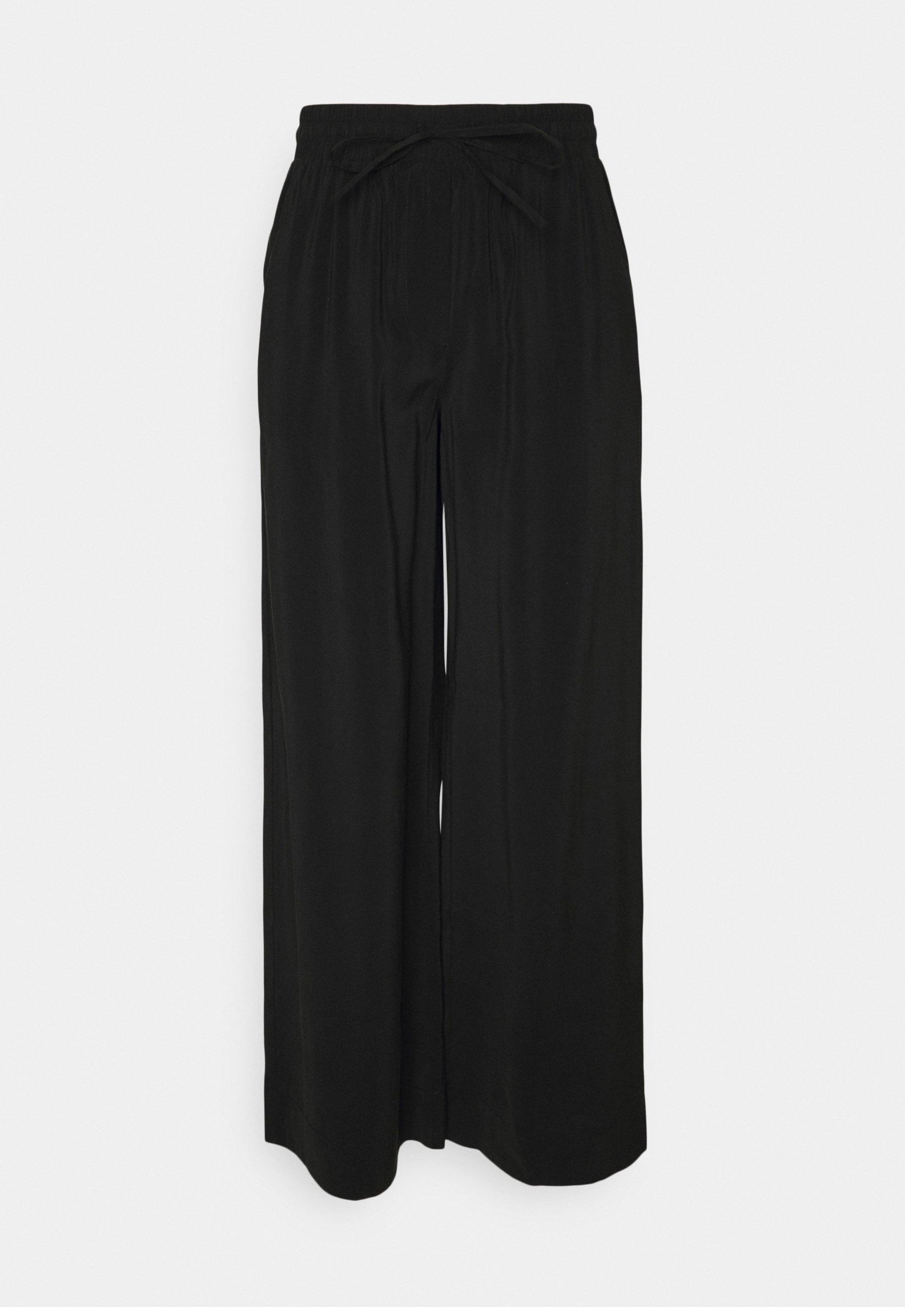 Damen PCCINDRA WIDE PANTS - Stoffhose