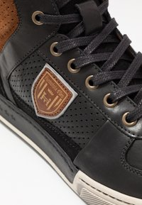 Pantofola d'Oro - FREDERICO UOMO MID - High-top trainers - black - 5