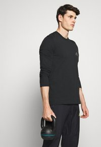 adidas Performance - ULTRA PANT - Trainingsbroek - black/yellow - 3