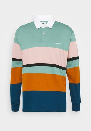 BENNY - Poloshirt - oil blue/multi-coloured