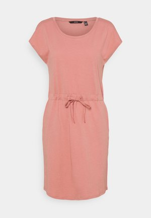 VMAPRIL SHORT DRESS COLOR - Jerseykjole - old rose