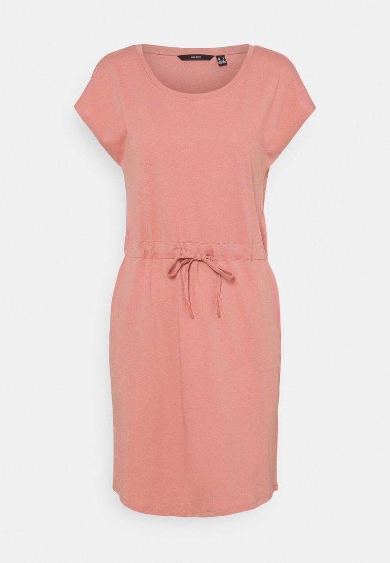 Vero Moda - VMAPRIL SHORT DRESS COLOR - Jersey dress - old rose