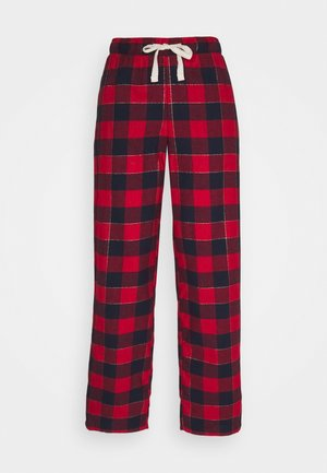 DEAL CHECK PANT - Pyjama bottoms - red