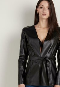 Tezenis - Faux leather jacket - nero - 0