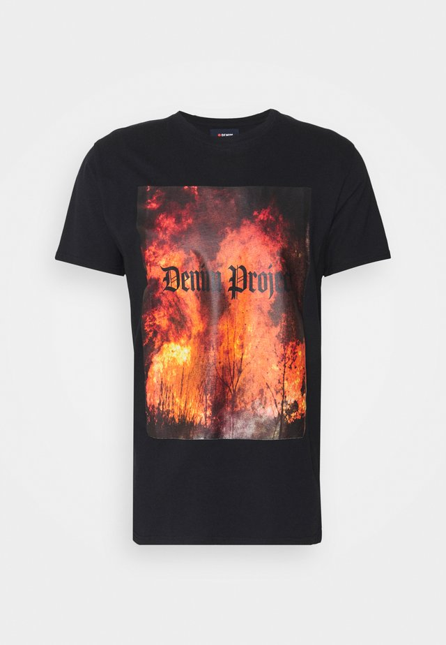 TREE TEE - T-shirts print - black
