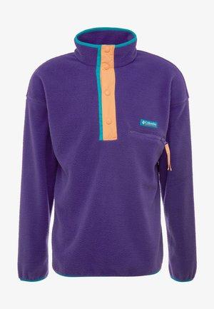 HELVETIA™ HALF SNAP - Fleecová mikina - vivid purple