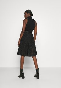 Custommade - ROBINA - A-line skirt - anthracite black - 2