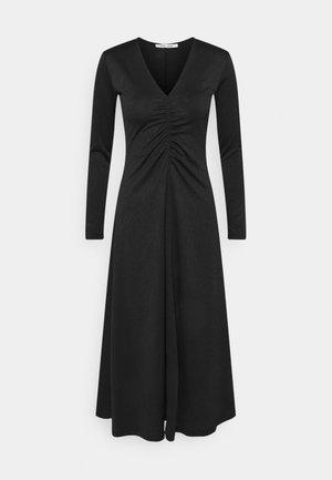 ELSIA DRESS - Žerzejové šaty - black