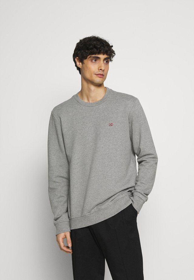 BALIS CREW - Sweater - medium grey melange