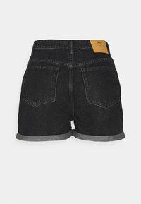 ONLY Tall - ONLBAY LIFE MOM - Shorts di jeans - black denim - 1