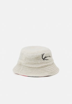 SIGNATURE REVERSIBLE BUCKET HAT UNISEX - Hatt - beige