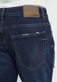 YOURTURN - Denim shorts - dark-blue denim - 5