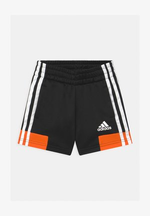 UNISEX - Sports shorts - black/orange