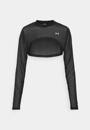 ROP MOCK Q3BEST - Sports shirt - black/white