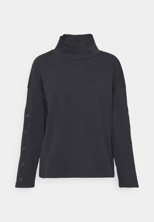 TIMES SQUARE TURTLENECK - Sweatshirt - true black