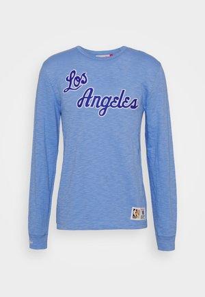 NBA LOS ANGELES LAKERS SLUB  - Club wear - blue/light blue