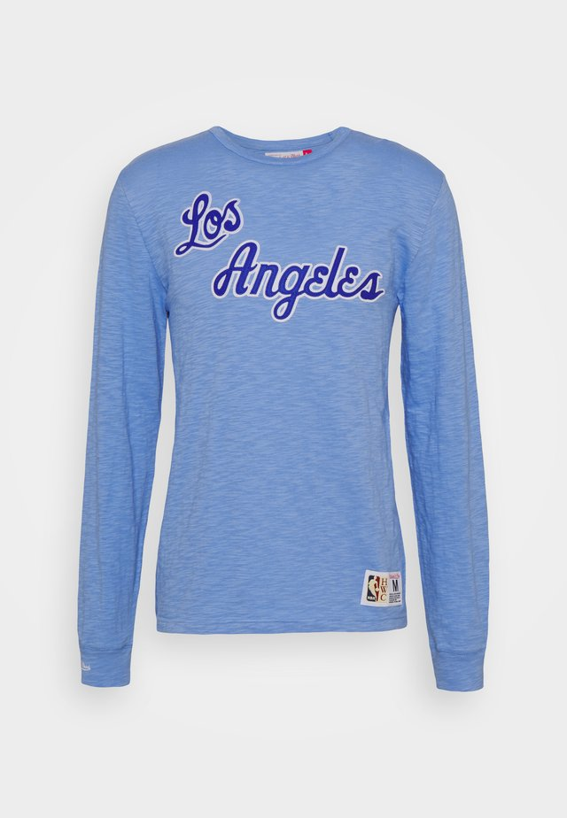 NBA LOS ANGELES LAKERS SLUB  - Article de supporter - blue/light blue