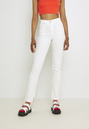 COMFY SLIT  - Jeans Skinny Fit - offwhite