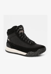 The North Face - W BACK-TO-BERKELEY III REGRIND WP - Mountain shoes - tnf black/vintage white - 2