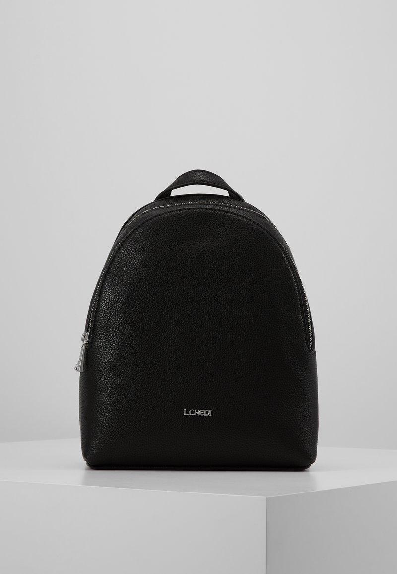L. CREDI - EBONY - Rucksack - schwarz