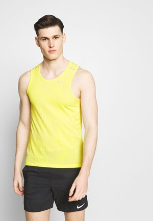 MILER JAQUARD  - Sports shirt - opti yellow/white/silver