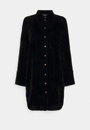 TUNIC DRESS - Skjortklänning - black