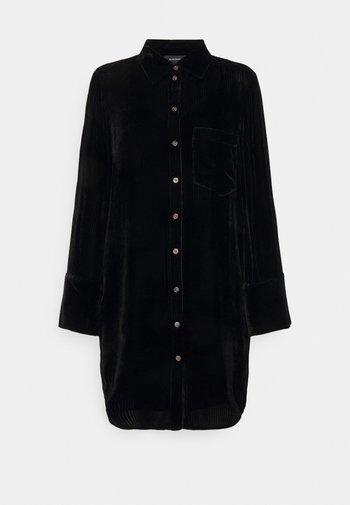 TUNIC DRESS - Shirt dress - black