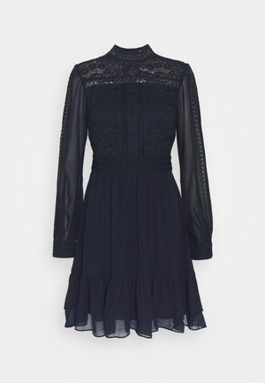 LAURINA SKATER DRESS - Day dress - navy