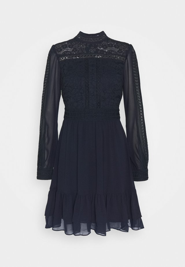 LAURINA SKATER DRESS - Vardagsklänning - navy