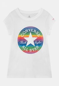 Converse - CHUCK PATCH  - Camiseta estampada - white - 0