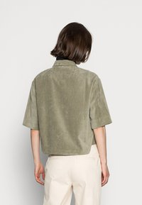 Opus - FORDA  - Button-down blouse - soft moss - 2